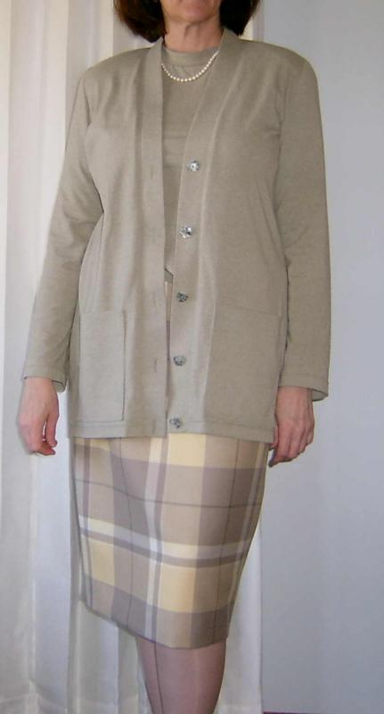 Large Plaid with FSG TwinSet