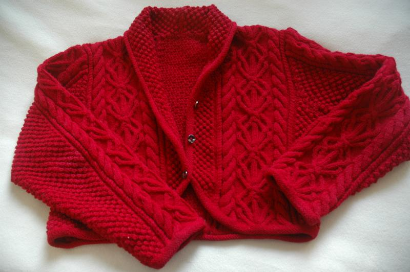 Red Sweater Front