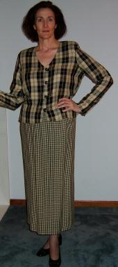First Capri jacket, unaltered pattern.