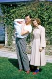 Bud, Anne, and Bill at Bob and Gladys'; Inglewood, Calif., 1952