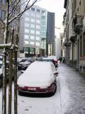 Traffic in winter basic