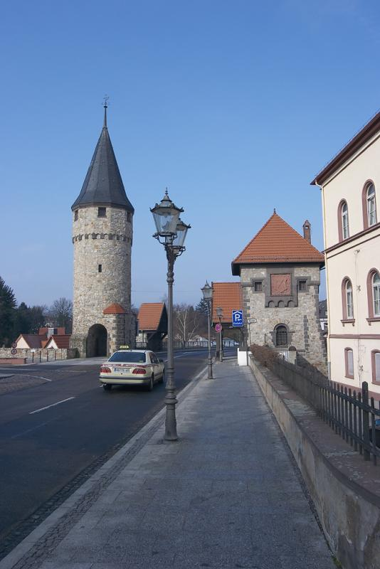 The Hexenturm and Ritter-von-Marx Bridge