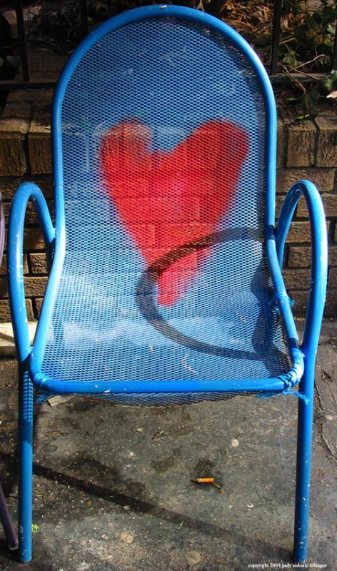 2.21.04 found heart chair