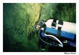 Osmar na Caverna Rock Hole