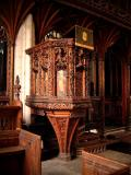 Kenton's All Saints - Carved pulpit