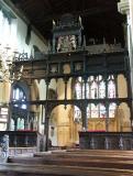 Rood Screen at St. Mary, Croscombe