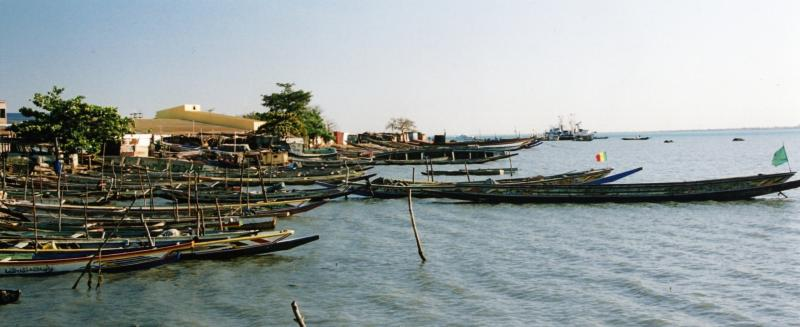 Banjul - the capital of Gambia