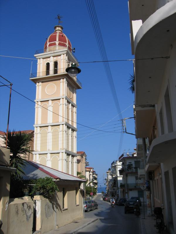 Zakynthos town - the capital of the island