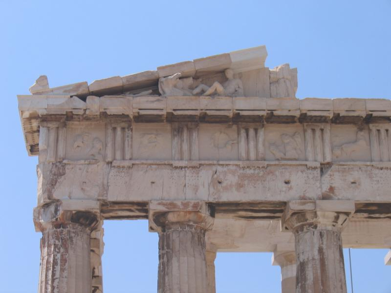 ornament on Parthenon