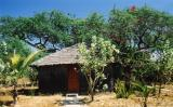 our hut on Paradise Island