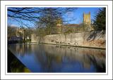 Moat walk, Wells