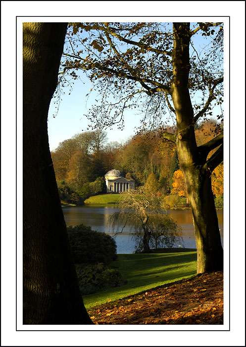 Stourhead ~ across the lake
