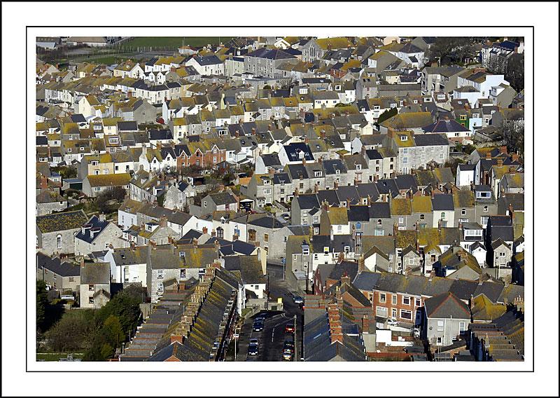 Fortuneswell housing, Portland, Dorset
