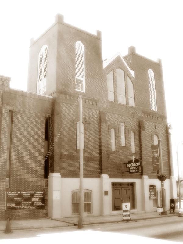 3-12-04 The Dream-Ebenezer Baptist Church, Atlanta