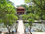 Tomb of Minh Mang (died 1840) - Sung An Temple