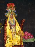 Colourful altar