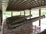 5 of the 9 Holy Cannons (each weighs 10 tonnes)