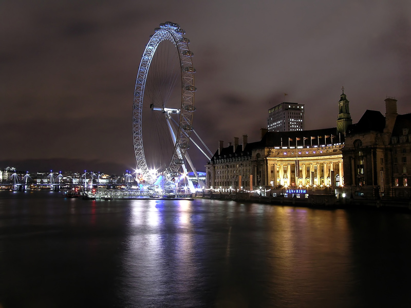 Big Wheel (London Eye) from Westminster Bridge
