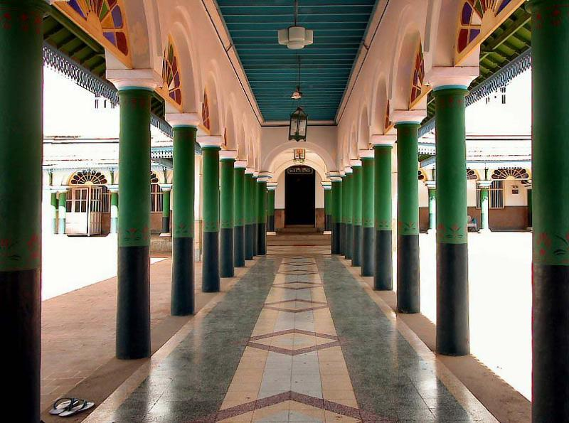 Private entrance of Chettinad Palace