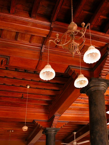 Wooden Ceiling - Chettinad Palace