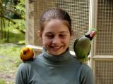 Mika and Parrots