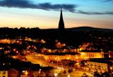 Derry at dusk - Derry (Co. Londonderry)