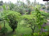 balcony view (birds eye view), looking straight ahead
