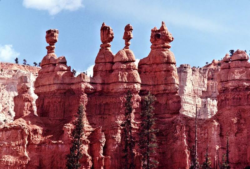Four spires