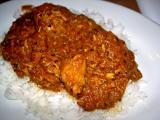 pork vindaloo over basmati rice 2