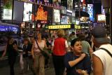 Times Square crowds