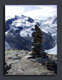 Rock Cairn On The Gornergrat