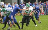 Seton Central Catholic High School's Varsity Football Team vs Deposit