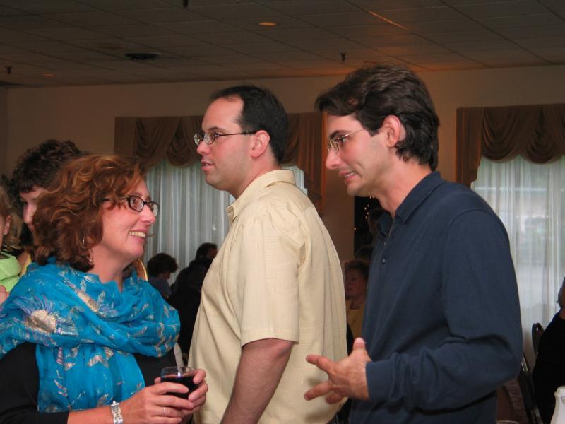 Kathleen, R. Michael, Jamie