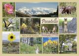 Pocatello Postcard, a 6x8.5 mailable card printed by Modern Postcard and available in local stores