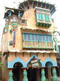 Clay houses, Universal Studios, Orlando, FL