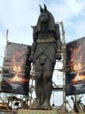 The Mummy stands guard, Universal Studios, Orlando, FL