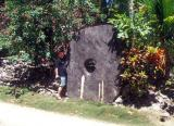 Another Huge Piece of Stone Money in Wanyan