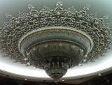 Ceausescu's chandelier, Bucharest