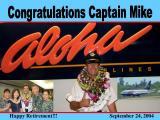 Happy Retirement Captain Mike!