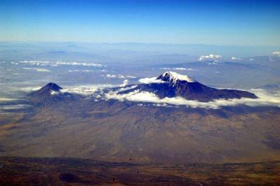 Mount Ararat from the Armenian side