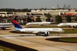 Delta 757 on 9L at ATL