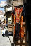 Colorful outfit, Sana'a market