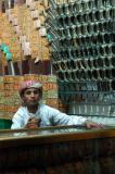 Boy selling jambiya knives, Sana'a