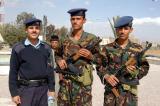 Airport police, Sana'a, Yemen