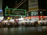 Patpong, the well-known happening night life in Bangkok