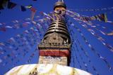 Monkey Temple in Katmanduh