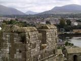 View from top of Castle