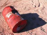 Shotgun Peppered 50-Gallon Drum