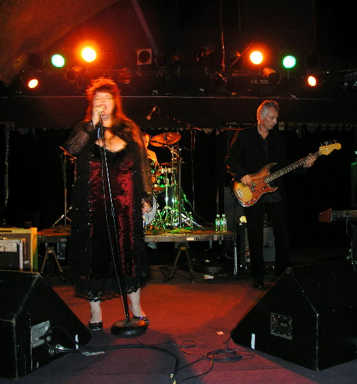 Candye Kane with Gregory Boaz