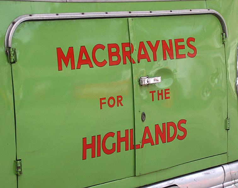 Macbraynes for the Highlands